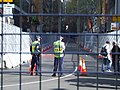 APEC Fence Construction, Sydney, 2 Sept 2007.JPG