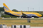ASL Airlines France, F-GZTS, Boeing 737-73V (34954691553).jpg