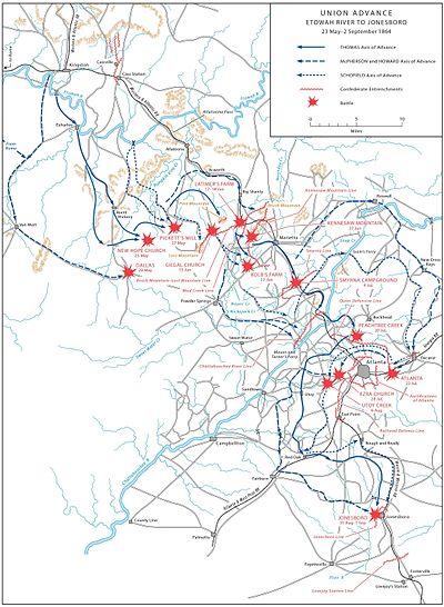 Battle of Atlanta/ Atlanta Campaign?