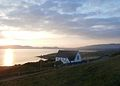 A Ray of Hope over Church of Mary Immaculate on Ring of Kerry, Ireland.JPG