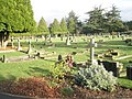 A Saturday lunchtime in December at Eastleigh Cemetery (6) - geograph.org.uk - 1623137.jpg