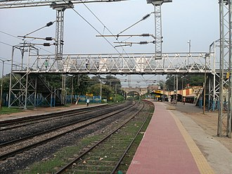Ramgarh district -  A View of Ranchi Road Railway Station