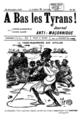 A bas les tyrans, Le Vénérable Frère Légitimus, député, ouvrant les travaux maçonniques à la Guadeloupe, 22121900.png