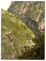 A bridge, Hollenthalklamm, Upper Bavaria, Germany-LCCN2002696236.tif