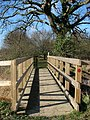 A new footbridge - geograph.org.uk - 1151973.jpg