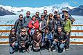 "A quick visit to Perito Moreno Glacier - the ""G"" group - (B)=Theresa, Bert, John, Liaan, Gavin, Murray - (M)=Sandra, Anchen, Britta, Megan, Anna - (F)=Jennifer, Carllye, Doryse, Sacheen and CEO (24556387824).jpg"