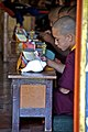 A young student at the monastery in the golden temple- Monk - 6718127347.jpg