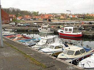 Aarsdale - Aarsdale harbour