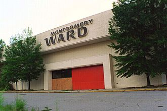 Montgomery Ward - Vacant Montgomery Ward store, Regency Mall, Augusta, GA