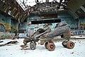 Abandoned Skates, burned out Skate Arena, Red Hill, 2014.jpg