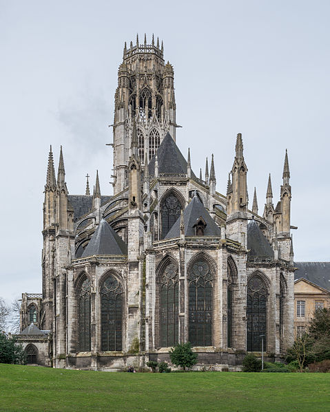 Datei:Abbaye Saint-Ouen de Rouen, West View 140215 2.jpg