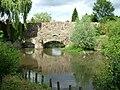 Abbots Bridge over the River Lark - geograph.org.uk - 1912484.jpg