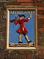 Abingdon OckStreet 83 Morland plaque.jpg