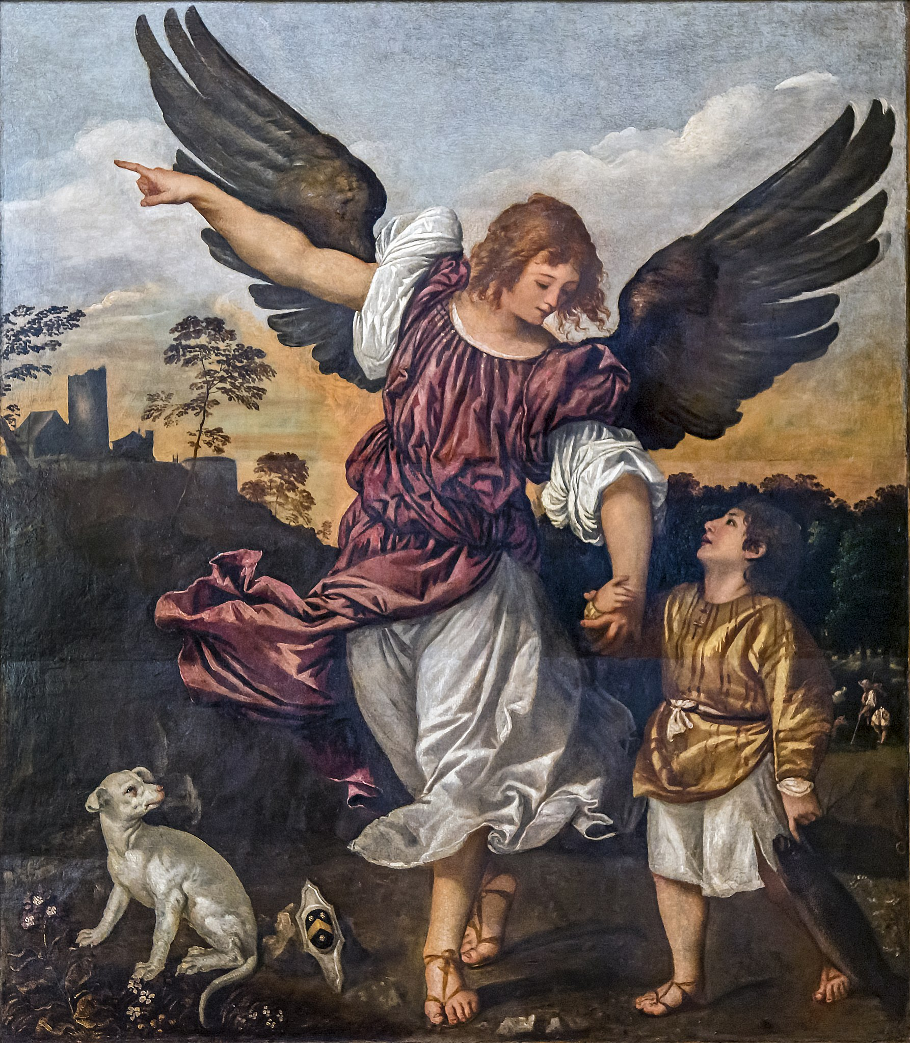File:Accademia - Archangel Raphael and Tobit by Titian.jpg - Wikimedia Commons