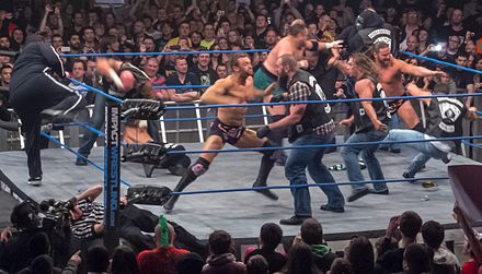 Aces & Eights brawl with the TNA roster. - Magnus (wrestler)