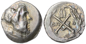 silver tetrobol issued under Achaean League