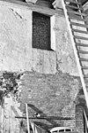 achtergevel uitwendig met verdiepingsvenster tweede vak - amersfoort - 20009737 - rce