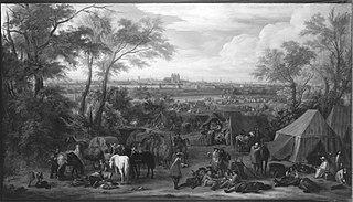 Das Lager vor Tournai, 1667 (und Werkstatt)