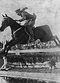 Adam Królikiewicz on horse Milord (Łazienki, June 1930).jpg