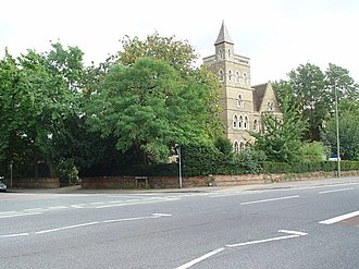 Norham Road - The junction of Norham Road with Banbury Road.