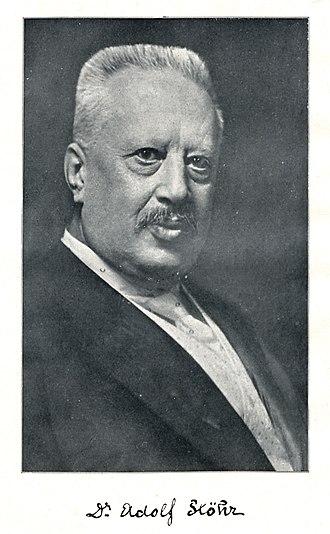 Adolph Stöhr - Image: Adolf Stöhr