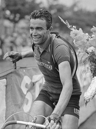 Adolfo Leoni - Leoni at the 1950 Tour de France