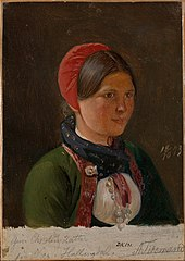Girl from Hallingdal