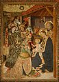 Adoration of the Magi - Retable of the Condestable - Capella de Santa Àgata - Barcelona 2014 (crop 2).JPG