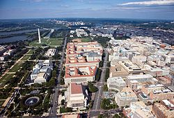 Washington, D.C., the capital of the United States