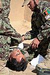 Afghan Army shows medical training 140415-M-MF313-087.jpg
