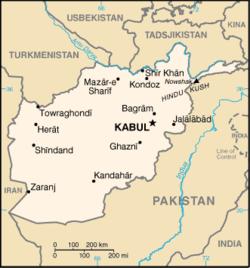 Afghanskt mote skots upp