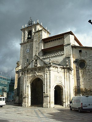 Salvatierra/Agurain - The San Juan church (2006)