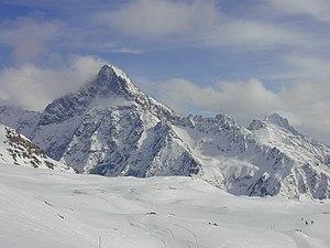 Aiguille du Plat de la Selle - Aiguille du Plat de la Selle in winter