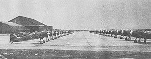 252 Air Group - Air Group 252 zeros at Misawa Air Base in May 1944