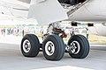 Airbus A350-941 F-WWCF MSN002 main landing gear ILA Berlin 2016 06.jpg