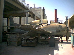 Royal Saudi Air Force - Derelict RSAF T-28A Trojan, one of four acquired in the 1950s, at King Abdulaziz University