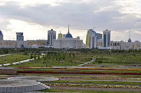 Ak Orda Presidential Palace - view from Pyramide.jpg