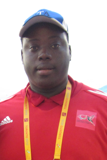 Akeem Stewart Trinidad and Tobago Paralympic athlete