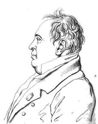 Eustache-Hyacinthe Langlois - Sketch of Jean-Antoine Alavoine, architect, an old friend of Langlois