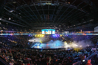 Alba Berlin - Alba Berlin's home games at Mercedes-Benz Arena (formerly O2 World) are among the most attended of any European basketball club.