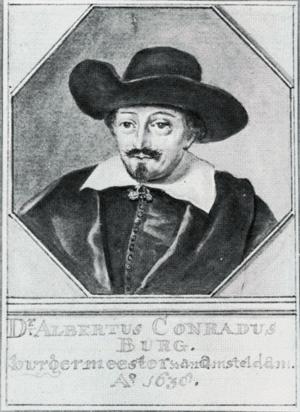 Albert Burgh - Albert Burgh in 1638
