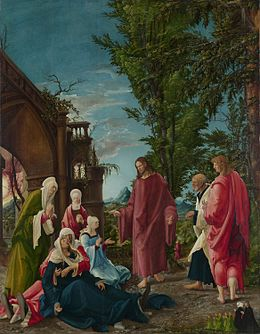 Albrecht Altdorfer - Christ taking Leave of his Mother - Google Art Project.jpg