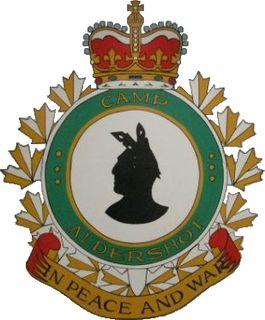Land Force Atlantic Area Training Centre Aldershot training base of the Canadian Army in Nova Scotia