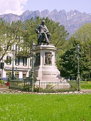 Monument of Manzoni