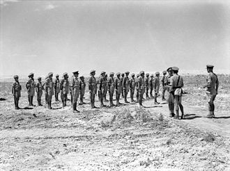 2/15th Battalion (Australia) - Troops from the 2/13th and 2/15th Battalions on parade, August 1942