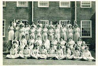 The Royal Masonic School for Girls - The girls of Alexandra house 1966