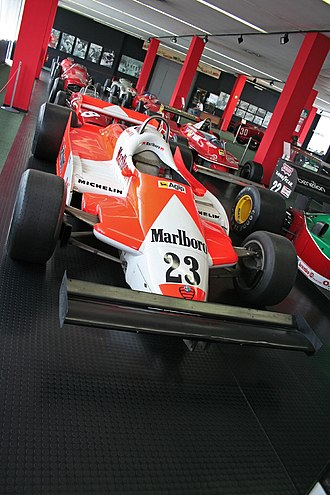 Alfa Romeo in Formula One - The Alfa Romeo 179B which was used during 1981.