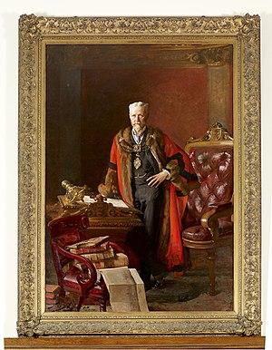 Alfred Gelder - Gelder in 1904 in mayoral robes