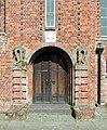 All Saints, Waltham Drive, Edgware - Doorway - geograph.org.uk - 1692490.jpg