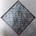 All Saints Church, Middle Claydon, Bucks, England - Rector William Butterfield plaque.jpg